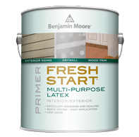 Benjamin Moore Fresh Start premium paint