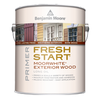 Benjamin Moore fresh start exterior wood stain