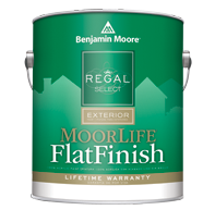 Benjamin Moore regal select exterior flat finish