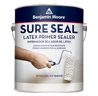 Benjamin Moore sure seal latex primer paint