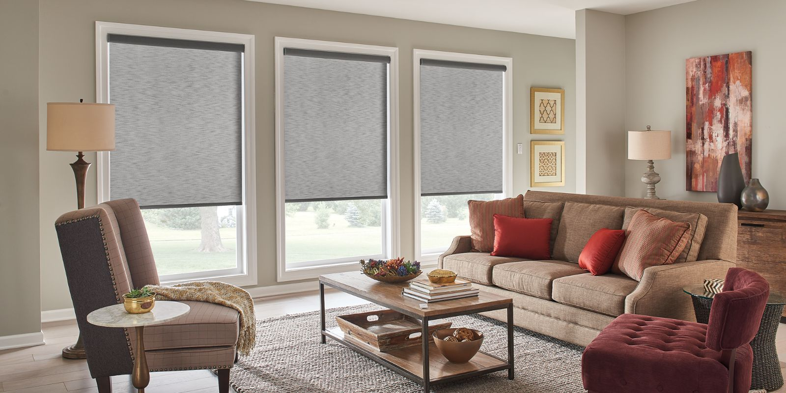 Lexington roller shades