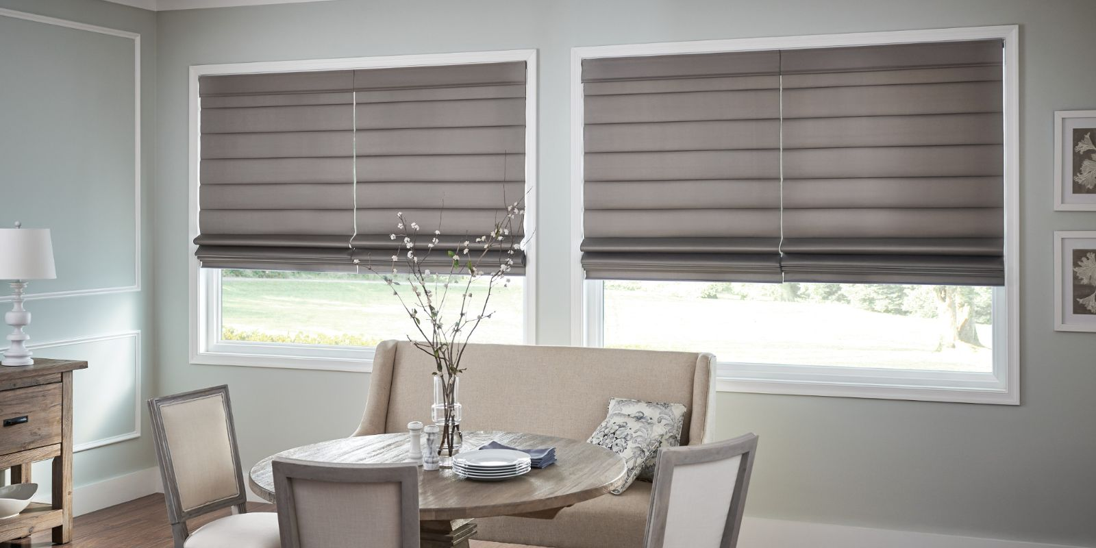 Lexington roman shades