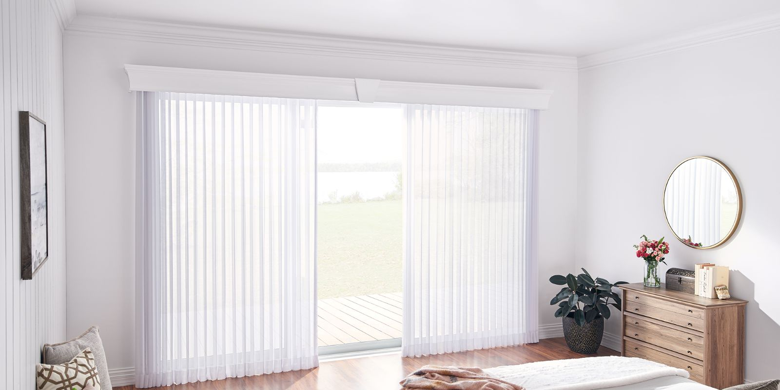 Lexington, KY Sheer Vertical Blinds