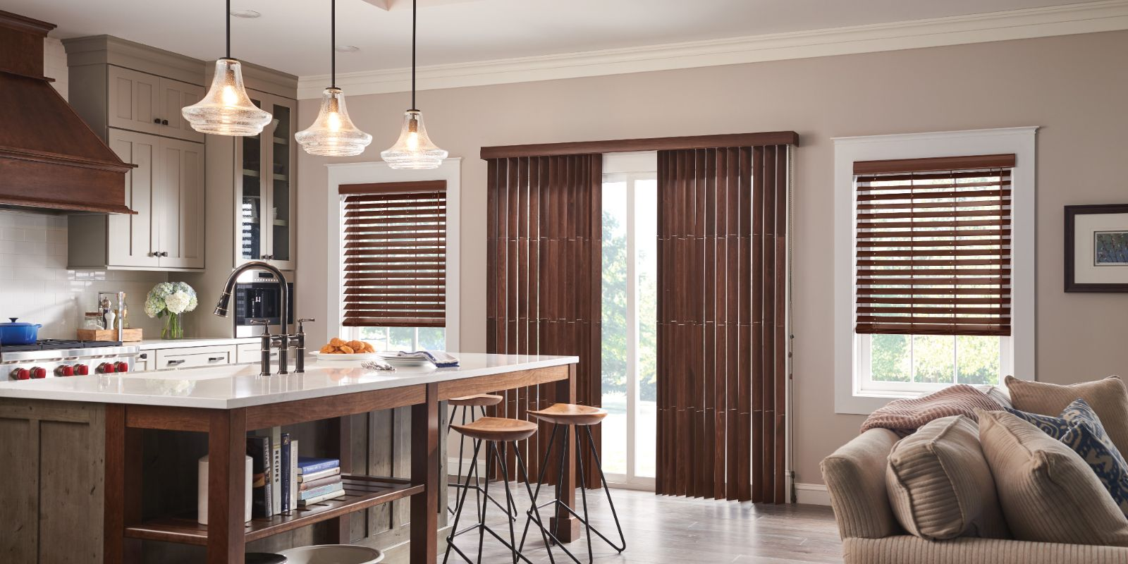Lexington, Ky Wood Vertical Blinds